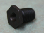 "Adapter From 10 mm 1.25 to 5/8""-11 Thread"