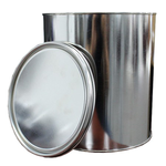 1 Gallon Round Open Top Can with Lid