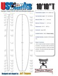 "10'10""T US Blanks SUP, 3/8"" Basswood Stringer"