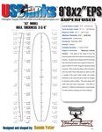 "9'8""XX US Blanks EPS Blank"