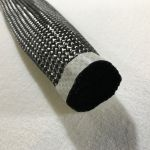 "2 5/8"" 12K Carbon fiber Braided Tube"