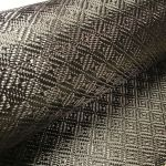 Checkerboard Jacquard Carbon Fiber Fabric 6oz 50""