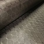 "Hex Weave Carbon Fiber Fabric 6oz x 50"" wide"