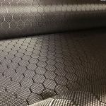 Patterned Carbon Fabrics