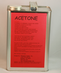 Gallon Can, Acetone (H)