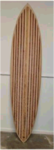 "7' 4"" Chameleon Hollow Wood Surfboard Kit"