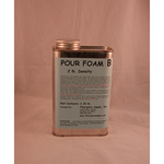 Pint, Component B, 2 lb. cu./ft Pour Foam
