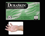 (M)  Dura-Touch Vinyl Disposable Gloves