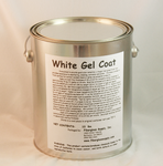 Gallon  White Gel Coat