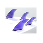 Blue Dorsal Products Quad Fin Set (FCS Tabs)