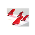 Red Dorsal Products Quad Fin Set (FCS Tabs)