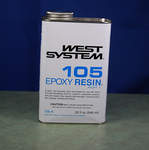 West 105A Epoxy Resin, 1 Quart