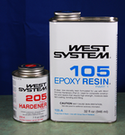 205West System Epoxy 1.2 Quart