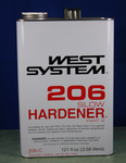 West 206-C Slow Hardener, .94 gallons