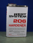 West 206-B Slow Hardener, .86 Quart