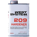 West 209 SB Hardener, .33 gallon